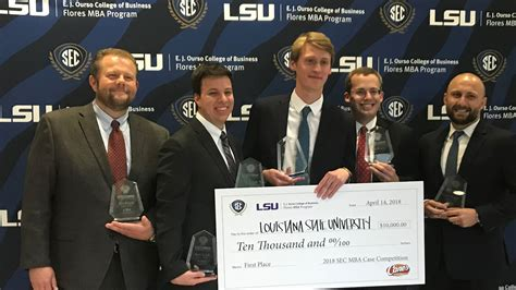 Lsus Mba Graduate With Honors by Secu