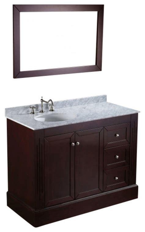 45 Bathroom Vanity 45 Bathroom Vanity Bosconi Sb 255 45 Quot Contemporary Single Vanity Traditional Bathroom