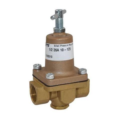 water pressure regulator watts 1 2 water pressure regulator