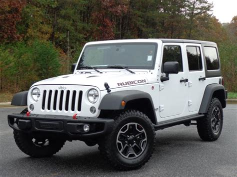 Jeep Rubicon Msrp by 2016 Jeep Wrangler Rubicon News Reviews Msrp Ratings