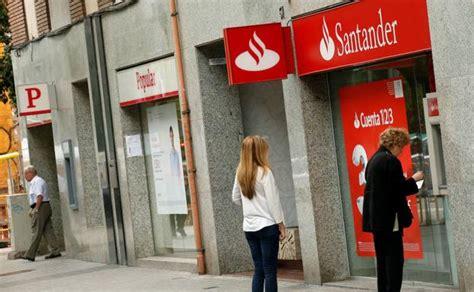 oficina banco santander barcelona santander prepara otra reducci 243 n de plantilla y oficinas