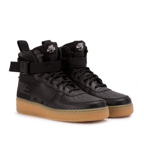 Sepatu Nike As Sf Air 1 Mid Black Hazel Hitam nike sf air 1 mid black gum 917753 003