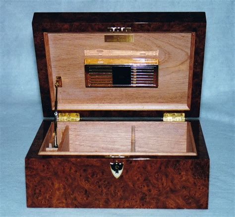 Handcrafted Humidors - made custom humidors by ed jorgensen american