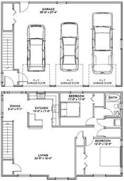 Garages With Apartments Above by Best 25 Garage Apartment Plans Ideas On Pinterest