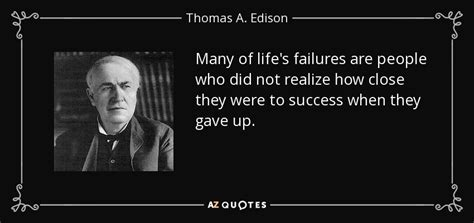 Many Religion One Vision a edison quote many of s failures are