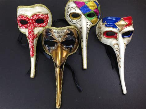 Masker Hidung Nose Gold Mask Terjamin s nose masquerade mask venetian mardi gras vintage gold masks