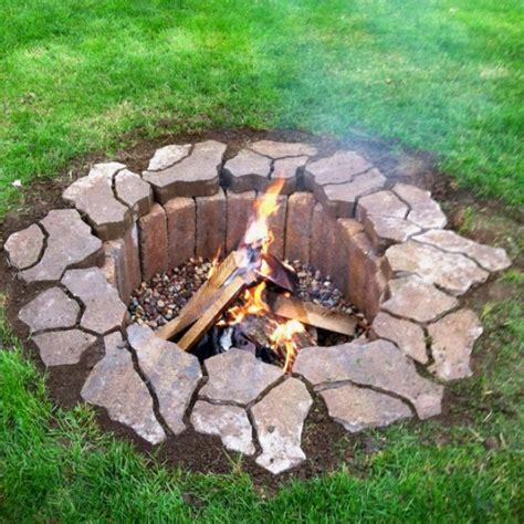feuerstelle selber bauen wapdesire wapdesire - Einfache Feuerstelle Im Garten