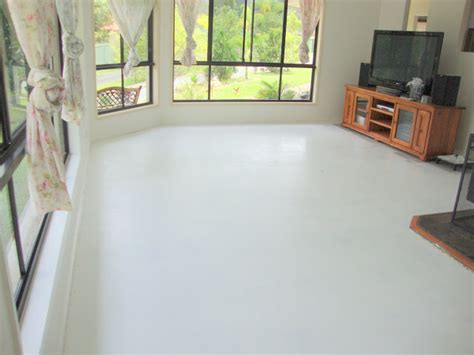 Modern Painting Cement Floors White Ideas For Minimalist