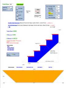 stair design calculator widebeam boat build blog stairs