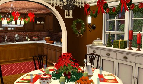 christmas decorations on sims 3 my sims 3 house by kirsten