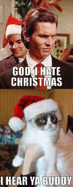 I Hate Christmas Meme - christian bale meme kappit