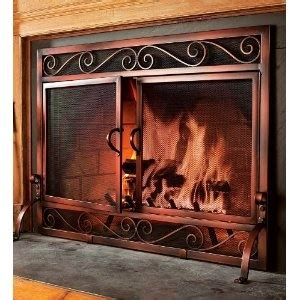 26 best images about iron fireplace screens on