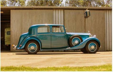 Rolls Royce For Sale In Australia Francis Owen Salisbury S 1936 Rolls Royce For Sale With