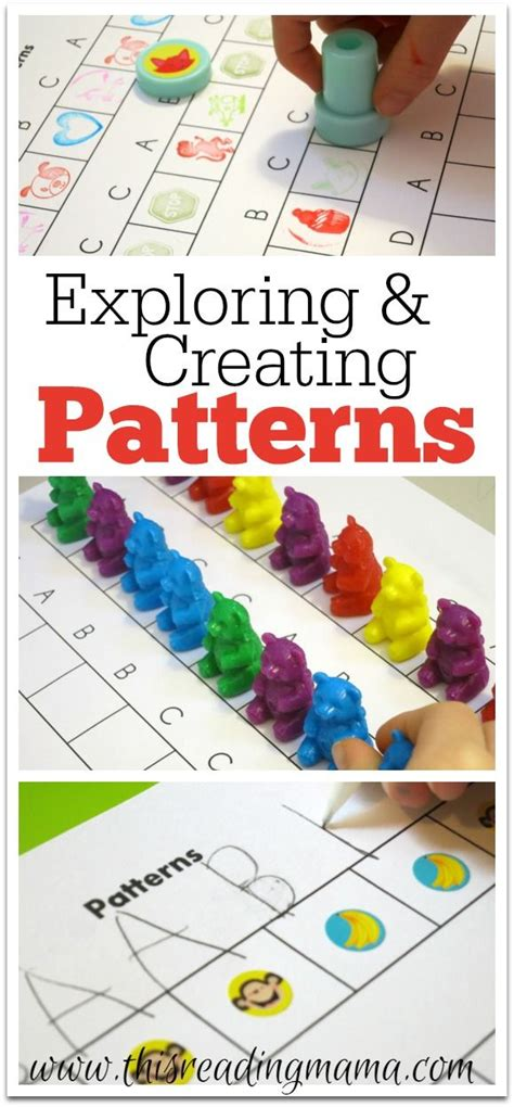 introducing pattern to kindergarten 215 best pre k patterns images on pinterest day care