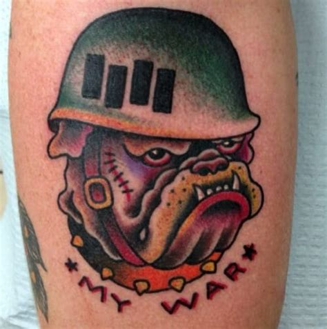 old school english tattoo traditional english bulldog tattoo www pixshark com