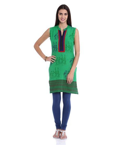 globus green cotton printed v neck kurti price in india buy globus green cotton printed v neck soch green cotton fit v neck printed kurti price in india buy soch green cotton