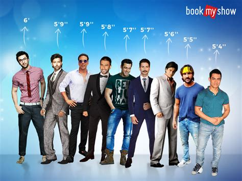 south actor height list tallest bollywood actors bookmyshow