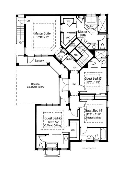 Inspiring 4 Bedroom Country House Plans 7 4 Bedroom House 4 Bedroom Country House Plans