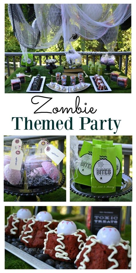 zombie themed birthday party 7271 best