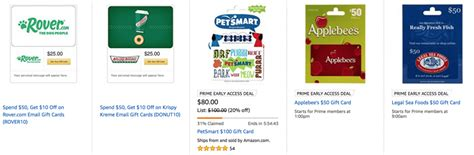 Can Gift Cards Legally Expire - amazon save 20 on gift cards for petsmart krispy kreme applebee s and legal sea
