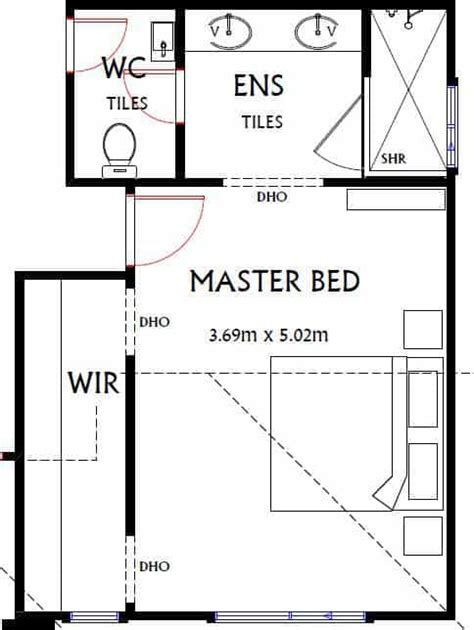 Standard Size Of A Master Bedroom average room sizes an australian guide buildsearch
