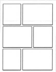 book template for pages comic book template pdf template design