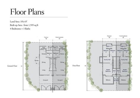 Single Floor House Plans India Meridin East Double Storey Link Homes Is For Sale