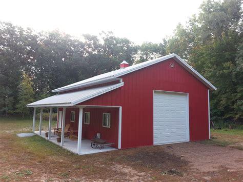 Rosholt, WI   Garage Building   Lester Buildings Project