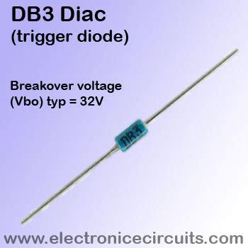 how to check trigger diode diac db3