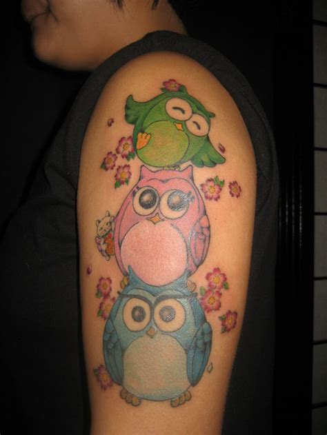 girly new owl tattoo google search tattoos