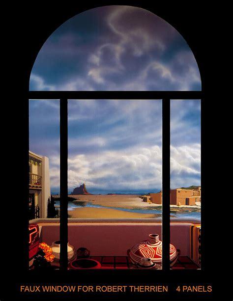 faux window painting faux window by george torjussen
