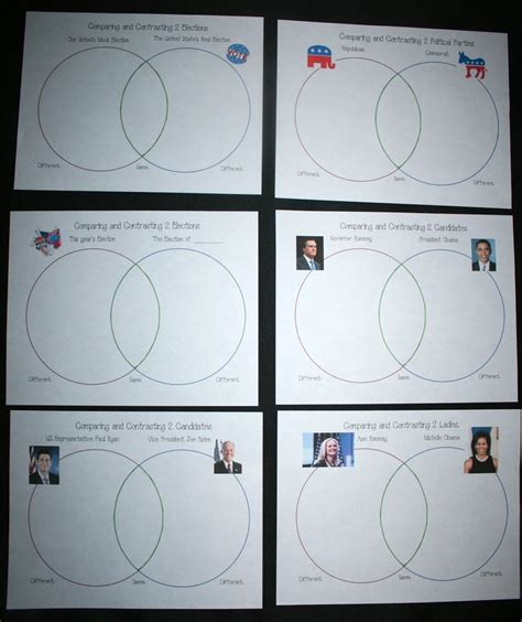 class tools venn diagram election venn diagrams venn diagrams classroom and