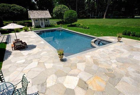 Backyard Rectangle Pools Rectangular Pool With Tub Small Pools