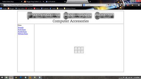 trik membuat online shop perencanaan untuk membuat 10 membuat online shop sederhana menggunakan html fadholi