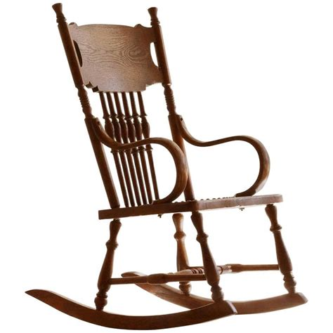 childs rocking chair antique child s rocking chair with tooled leather