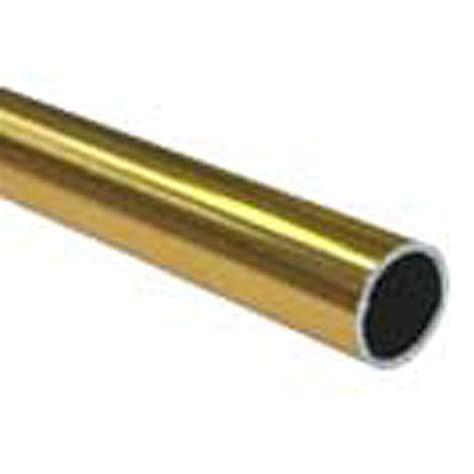 2 5 m curtain pole conduit curtain 16mm shp 3 0m gold alum bwg30 i n 1285156