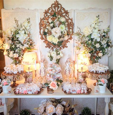 Floral Themed Baby Shower by Floral Copper Baby Shower Baby Shower Ideas Themes