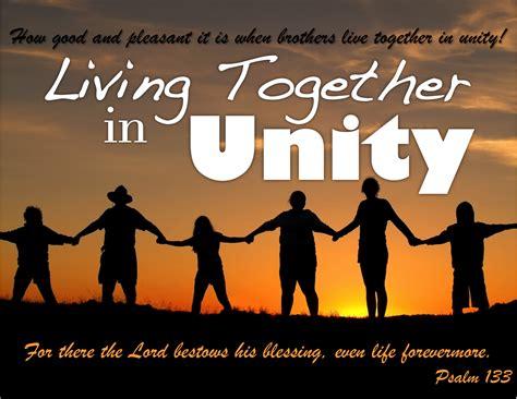 live together living together in unity