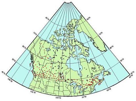 canadian map with latitude and longitude canada map latitude