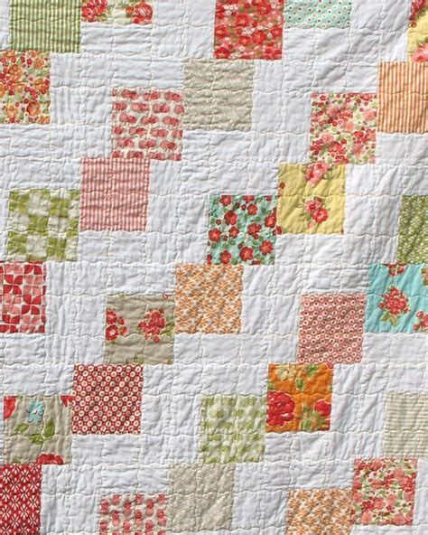 Falling Charms Quilt Pattern by Ye Olde Sweatshop Marmalade Falling Charms Quilt 48