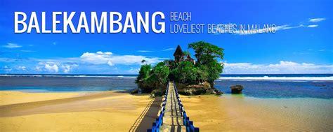 keindahan wisata pantai balekambang malang travel malang