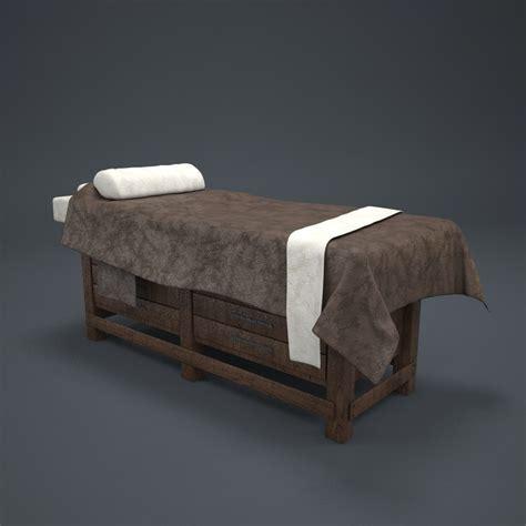 3d bed 3d massage bed