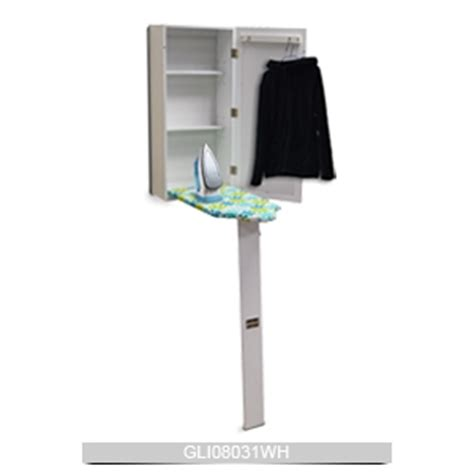 Free Standing Ironing Board Cabinet by Ironing Board Cabinet Design Wood With Nc Painting