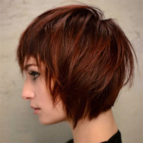 haircuts for thick hair women s 30 trendy short hairstyles for thick hair women short