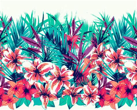 tropical design womens kelly nedderman art licensing surface pattern