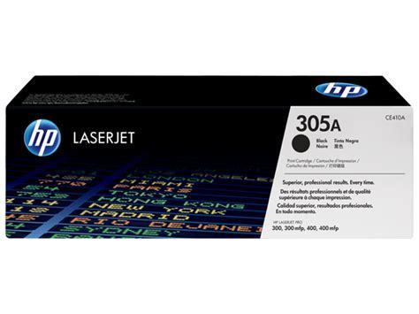 hp 305a black original laserjet toner cartridge ce410a