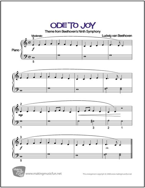 biography beethoven pdf ode to joy beethoven sheet music for easy piano