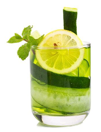 Green Tea Lemon Cucumber Detox by Lemon Mint Water Diarrhea