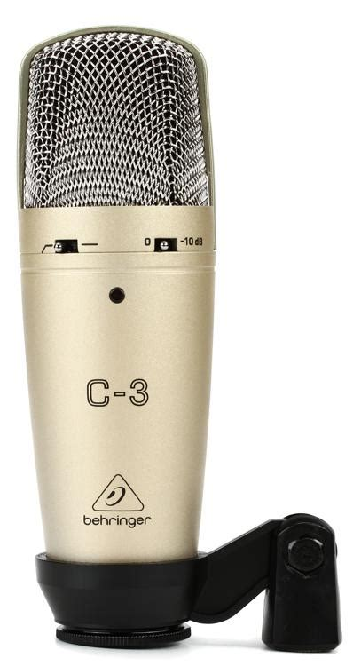 behringer   dual diaphragm condenser microphone sweetwater