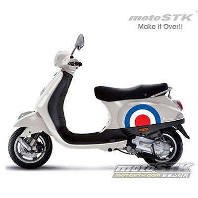 Aufkleber Vespa Lx 50 by Motorcycle Scooter Vespa Mods Style Decals Panel Sticker